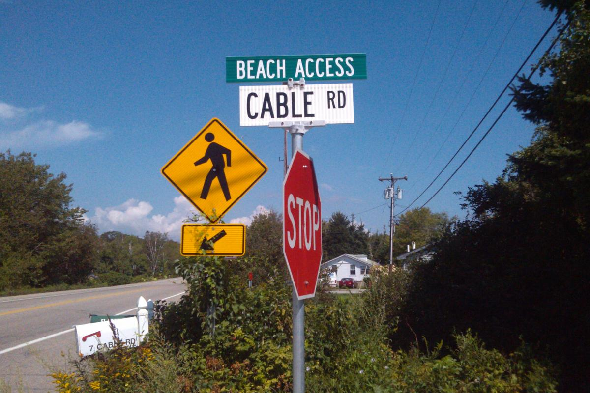 Cable Road Beach Access
