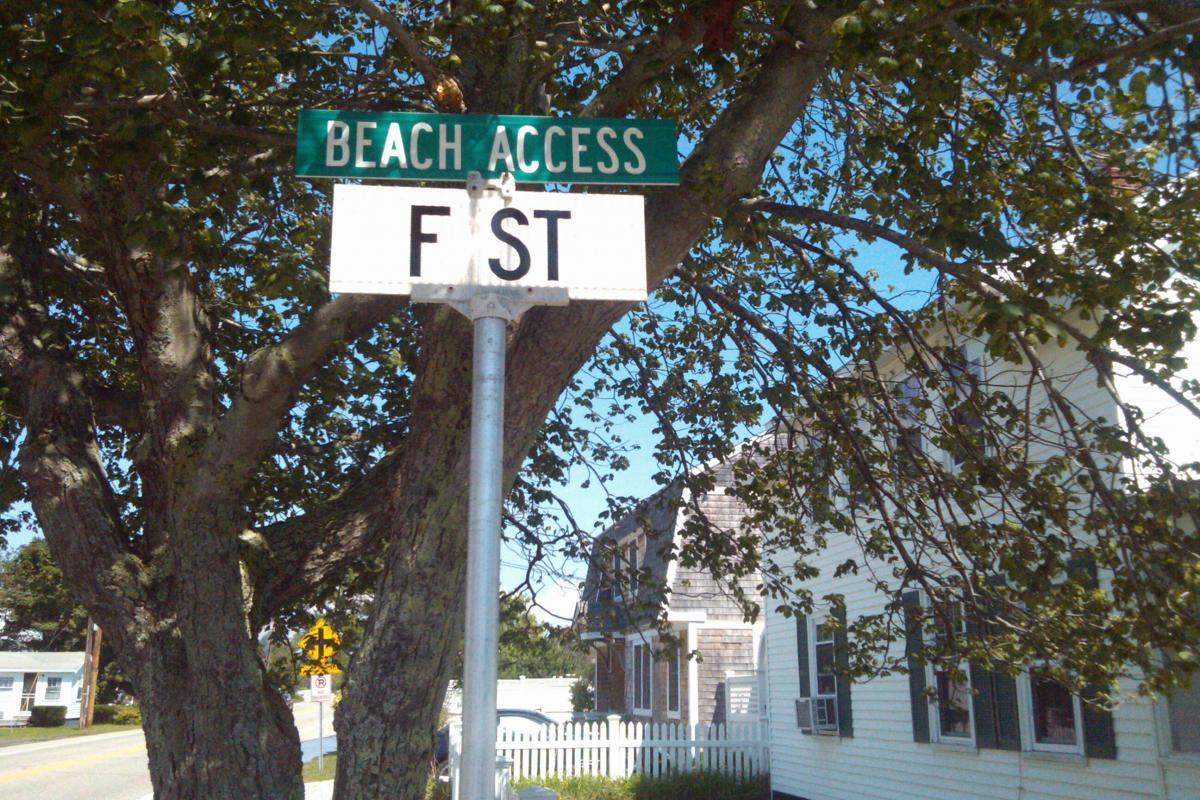 F Street Beach Access