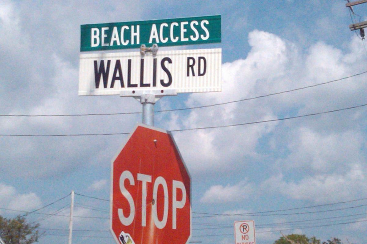 Wallis Road Beach Access
